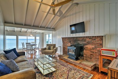 Blissful days on the shore await at this Portsmouth vacation rental cottage!