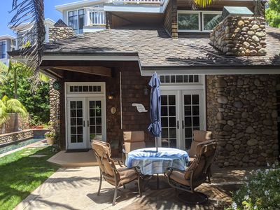 Photo for Charming Beach Cottage, Sleeps 8, Heated Pool, Private yard, 200 ft to sand