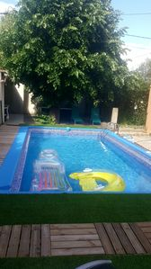 Photo for PRIVATE STUDIO view and access SWIMMING POOL