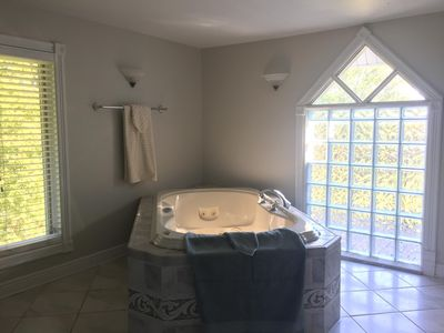 A hydro tub? You bet - right in the master bath!
