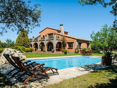 Photo for Magnificent Villa in Peralada with Private Pool and Garden