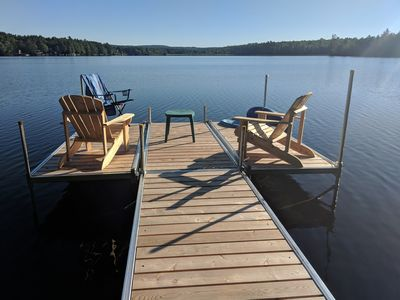 Photo for Maranacook Lake, Waterfront, fully remodeled lake front house with awesome view.