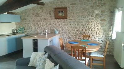 Photo for Pretty stone cottage in a picturesque setting