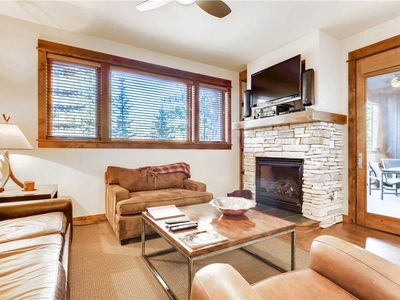 Photo for Luxury condo nestled in the pines with outdoor pool & hot tubs
