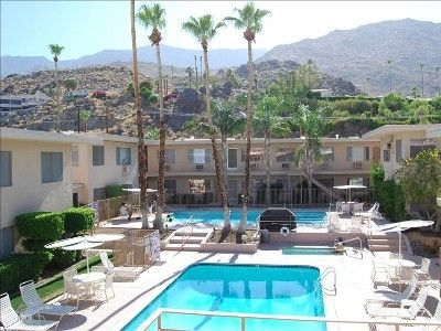 Photo for Mid-Century Desert Skies Condo in South Palm Springs