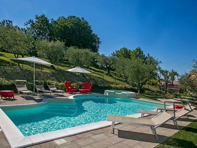 Photo for Modern Villa in Candelara with Pool