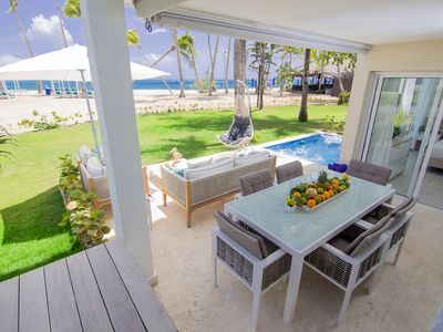 Photo for Modern Beachfront Condo with Private Outdoor Pool & Patio @ EmotionsPlaya Dorada