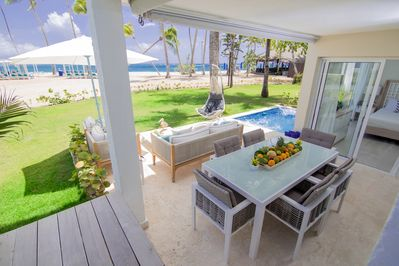 Beachfront Outdoor Area