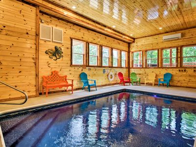 Photo for NEW! Pigeon Forge Cabin w/Theater, Arcade & More!