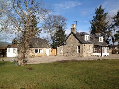 Photo for 2 Bedroom Cottage With Panoramic Views Of The Cromdale Hills