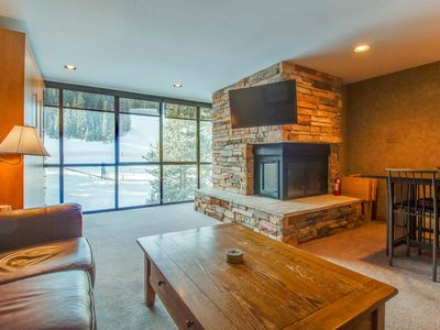 Photo for Ski-in / ski-out upscale condo with shared pool & mountain view - close to lifts
