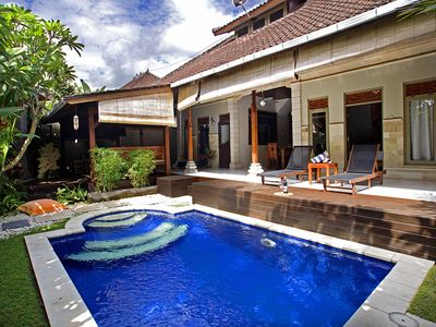 Photo for 2-BR Balinese Style Pool Villa Seminyak