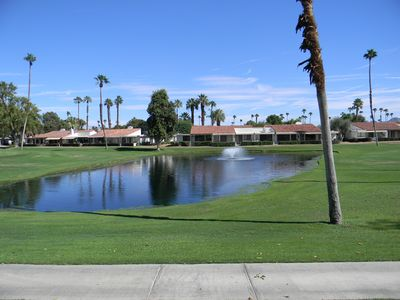 Photo for Lake & Golf Course View - Upgraded & Remodeled Rancho Las Palmas Resort End Unit