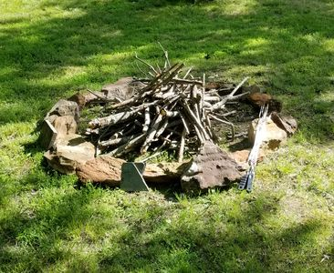 Photo for Creekside Home with Firepit!