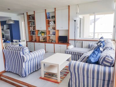 Photo for Great apartment in front of the sea in Platja D'Aro. wifi and heating