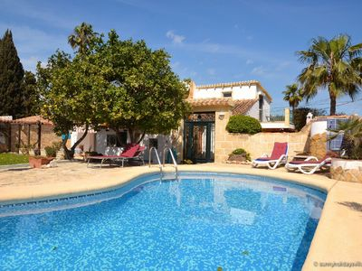 Photo for Holiday house with pool, garden, ca. 1 km to beach, tranquil, south-facing
