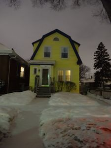 The Yellow Cottage after a fresh snowfall!