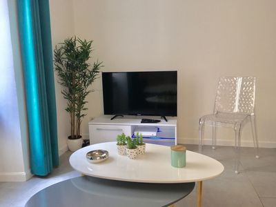 Photo for Cozy apartment very well equipped - 30 m2 - HyperCentre - Wifi -2/4 people