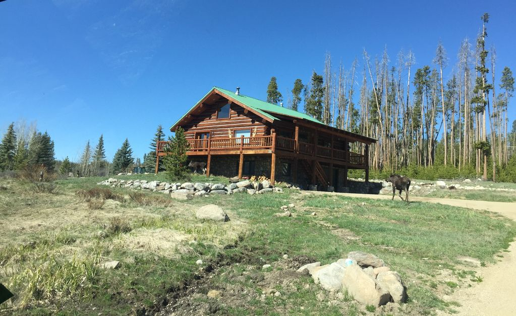 Handcrafted grand lake log home 3 br vacation house for for Grand lake colorado cabin rentals
