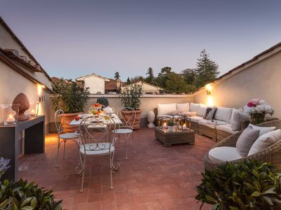 Photo for CASA LAURA UNWIND YOURSELF ON A LUXURY TERRACE IN LUCCA TOWN