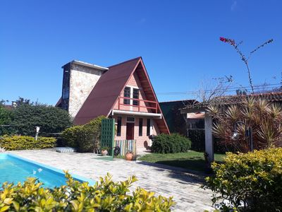 Photo for ACCOMMODATION CHALET, WITH SWIMMING POOL AND BARBECUE