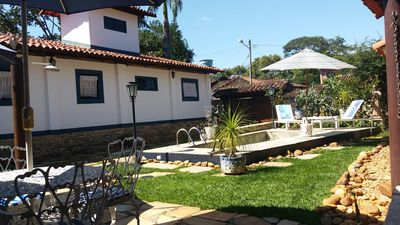 Photo for BEAUTIFUL HOUSE WITHIN THE CITY OF PIRENÓPOLIS FOR UP TO 12 PEOPLE.