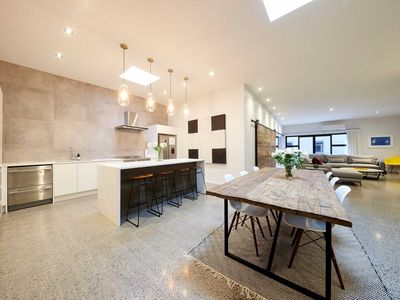 Photo for Designer, 4 Bd Converted Loft | Minutes to SkyCity