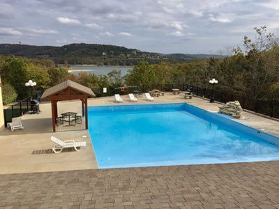 Photo for Amazing Lakeview!! Overlooking the pool!!  NO STEPS!!!