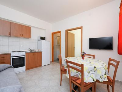 Photo for One bedroom apartment with air-conditioning Petrčane, Zadar (A-6101-b)