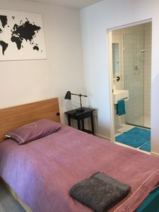Photo for Bedroom with ensuite in CBD unit opposite Vic market , share with owner only .