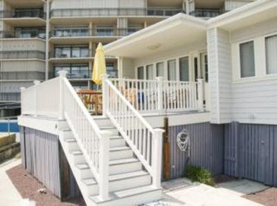 Photo for Ocean Front Luxury-North OCMD-Big Deck Steps to Beach