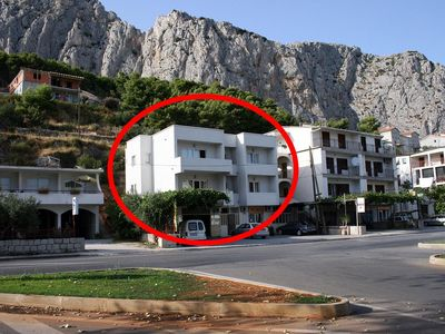 Photo for Studio appartment in Omiš (Omiš) capacity 2+2