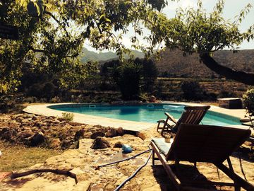 Beautiful Secluded Cottage Beside Our Old Olive Farm With Use Of Big Pool & More