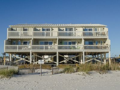 Photo for Cat 5 - 2 Br Gulf Front Townhome with Pool Access in Ft. Morgan Townhomes, Sleeps 7