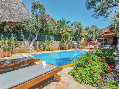 Photo for Gorgeous villa surrounded by a beautiful walled garden, w/ modern fittings and pool