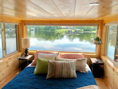 Photo for The View - Waterfront tiny home with incredible panoramic views