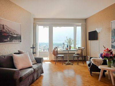 Photo for Apartment in the center of Ascona with Lift, Parking, Internet, Balcony (46895)