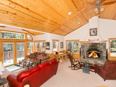 Photo for Big Pine - Beautiful 3 BR with Hot Tub and Access to Tahoe Park Beach & Park