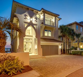 Photo for Villa Bianca - ALMOST NEW! STUNNING Beachfront Home -TWO Living ROOMS/Kitchens