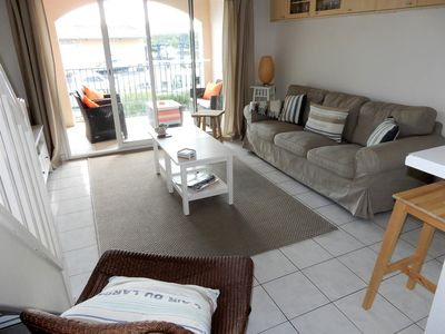 Photo for Modern two bed, two bathroom apartment in Les Grimaudieres, Port Grimaud