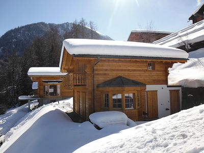 Photo for Vacation home Chalet Lustycru  in La Tzoumaz, Valais - 8 persons, 4 bedrooms