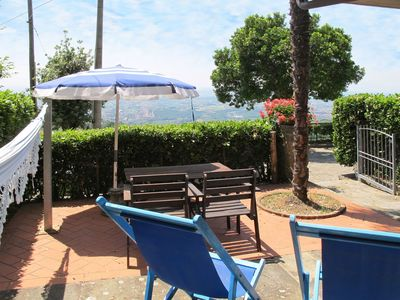 Photo for Nice apartment for 4 people with pool, WIFI, TV, balcony, pets allowed and parking