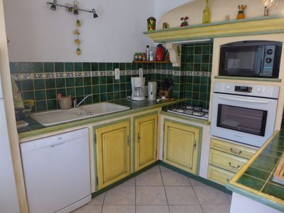 Photo for Vacation home Le Brulat in Le Castellet - 6 persons, 3 bedrooms