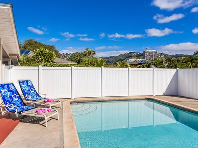 Photo for *10% discount on stays now-6/18* Kahala Cottage - Private Kahala home with pool!