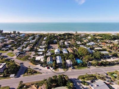 Photo for One Block to Beach!  2 bed / 2 bath - West of Gulf