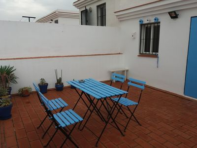 Photo for DUPLEX WITH LARGE TERRACE, AIR CONDITIONING, WIFI AND GARAGE
