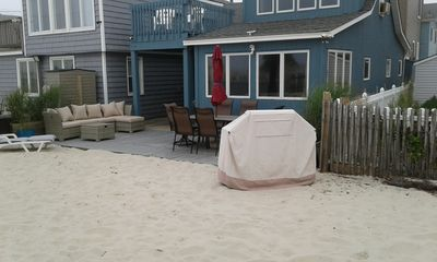 Photo for OCEANFRONT BEACH HOUSE / PRIVATE BEACH / LAVALLETTE