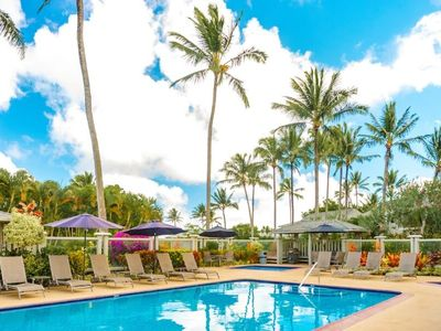 Ali'i Kai 2201 - Reduced for March. Tropical & partial Ocean Views. Top Floor Corner Condo, Pool