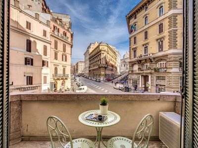 Photo for Apartment 329 m from the center of Rome with Internet, Air conditioning, Lift, Balcony (911578)