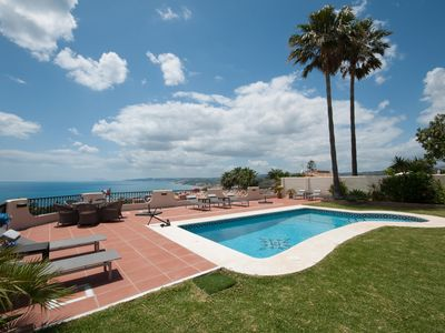 Photo for Luxury with panoramic coastal views, walking distance to the beach